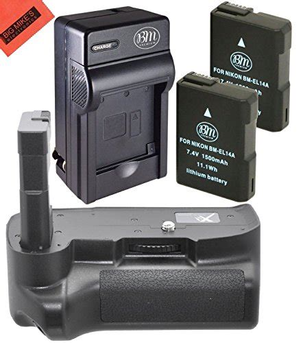 Battery And Charger Kit For Nikon D3100 D3200 D3300