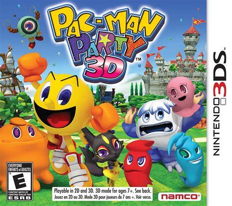 Pac Man Party 3d Nintendo 3ds Ign