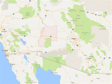 county paz arizona dangerous most places google maps montana