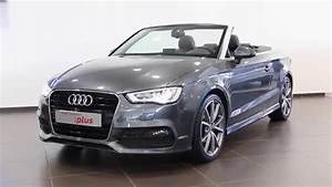 Audi A3 S Line Occasion : audi a3 cabriolet occasion 2 0 tdi 150 s line s tronic 6 gris daytona 8554 youtube ~ Medecine-chirurgie-esthetiques.com Avis de Voitures
