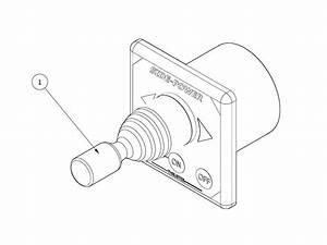 side power joystick panel sleipner ab With slidepower