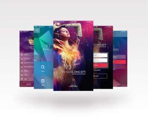 14872 modern professional resume mobile application ui designing by ubrain on envato studio