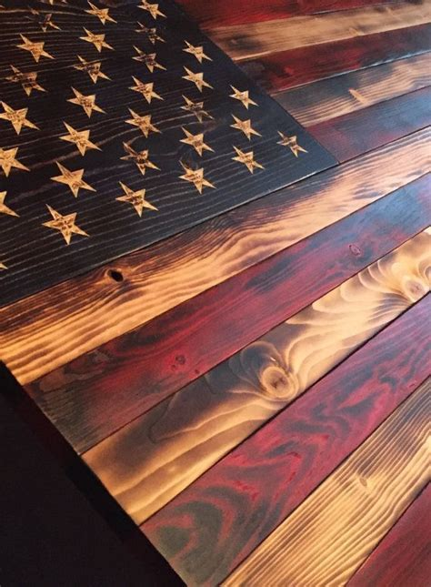 Our american flag ceramic coffee mugs come in two sizes. DIY Furniture Plans & Tutorials : Old Glory Battlefield Flag Wooden American Flag Sign Rustic ...