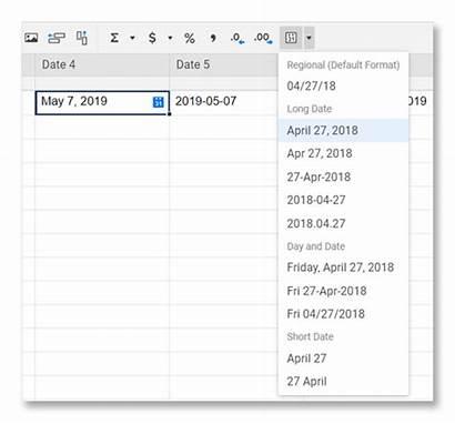 Date Formats Format Sheet Smartsheet Standardized Apply