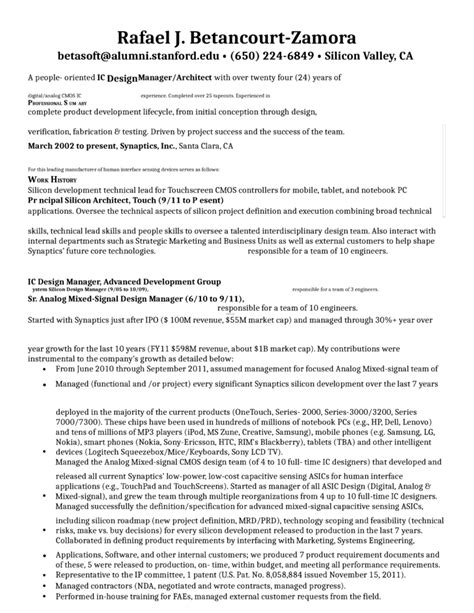 Chronological Resume Engineer by Chronological Design Engineer Resume Template