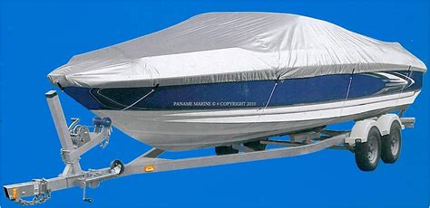 bache pour bateau moteur 427 a 488cm largeur 180cm paname
