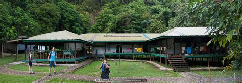 Camp 5 building picture. Trail to Camp 5, Mulu national ...