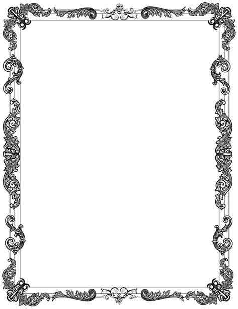 ornate frame black  image  pixabay