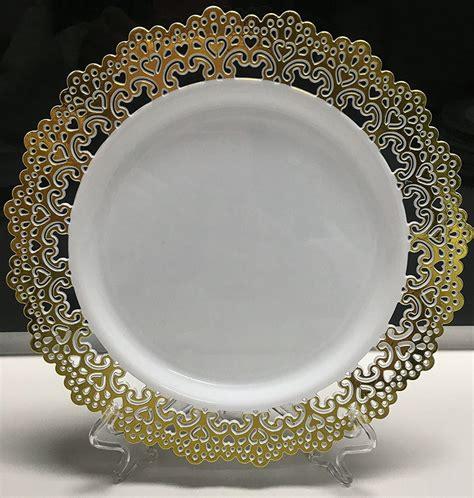 elegantes platos desechables de plastico vajillas duro