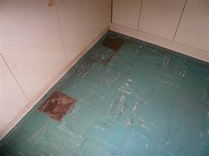 The wrong way to deal with asbestos insulation rob for Vinyl flooring dangers