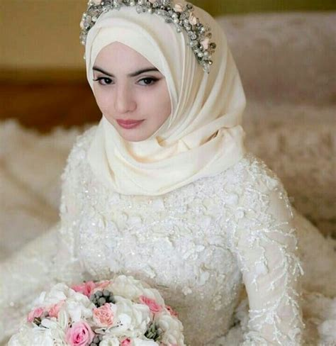 wedding hijab ideas  pinterest wedding hijab