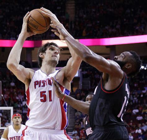 Boban Marjanovic's career night leads Pistons past Rockets ...
