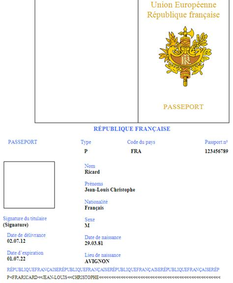 Passport Template The Gallery For Gt Pretend Passport Template For