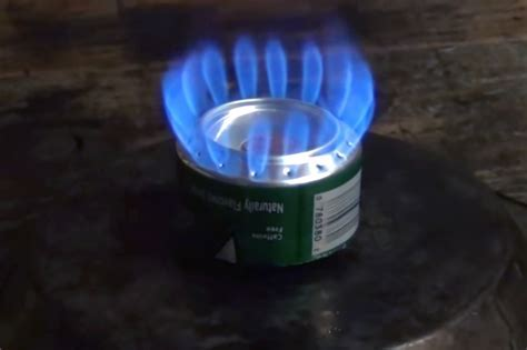 Ultralight and Efficient Penny Stove   RECOIL OFFGRID