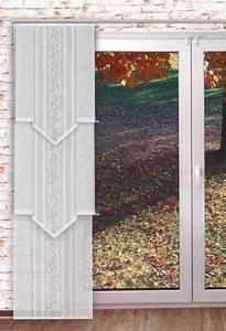 Schiebegardine 30 Cm Breit : gardinen welt online shop transparente schiebegardine ~ Watch28wear.com Haus und Dekorationen