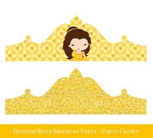 Princess Birthday Crown Printable