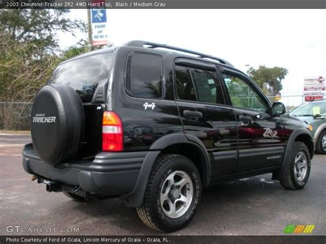 Chevrolet Tracker 2003 by 2003 Chevrolet Tracker Zr2 4wd Top In Black Photo No