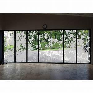 Film Pour Vitre : feuillage vitre sticker ~ Melissatoandfro.com Idées de Décoration