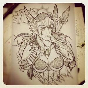 Tatouage Valkyrie Nordique : valkyrie tattoo designs pinterest tatouage tatouage bras et mythologie nordique ~ Melissatoandfro.com Idées de Décoration