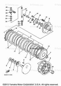Yamaha Atv 2003 Oem Parts Diagram For Clutch