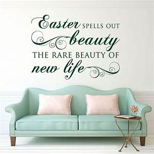 easter decorations vinyl wall decals religious home With good look chruch wall decals