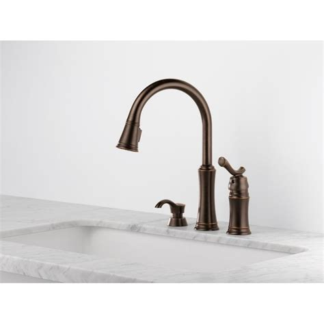 Delta Lakeview Bar Faucet by Delta 59963 Sssd Dst Pull Kitchen Faucet With Soap