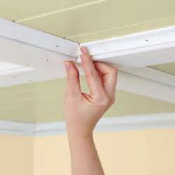 How To Install Cabinet Filler Piece by Decorative Kitchen Ceiling
