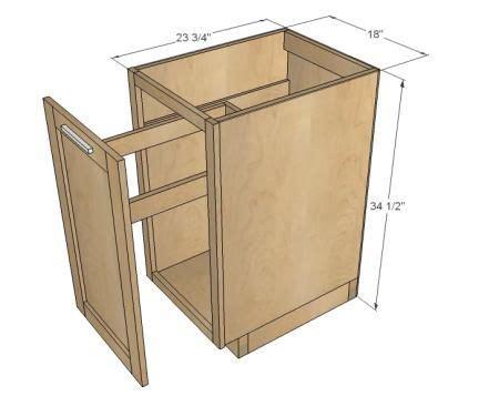 garbage  storage bin plans woodworking projects plans