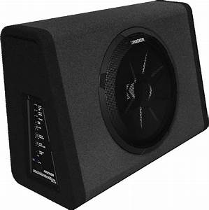 Kicker 11pt10 Single 10 U0026quot  Subwoofer Enclosure With 90