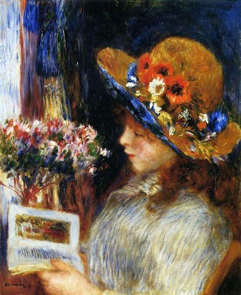 Renoir Girl Reading Canvas Giclee 8 X 10 Inch Print Ebay
