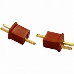 Micro T Connector Male  Female Pair  Compatible With Dean U0026 39 S