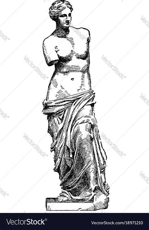 venus de milo   famous ancient greek statue vintage