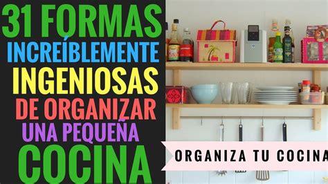 formas increiblemente ingeniosas de organizar una
