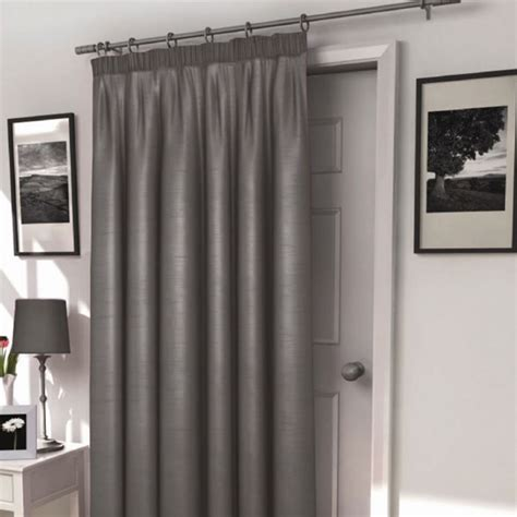 harrow silver thermal lined door curtain harry corry limited