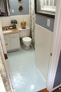 how to paint over old floor tiles thefloorsco With how to repaint bathroom