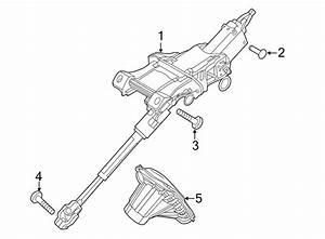 2013 Ford Fusion Steering Column  Fusion  Manual Tilt