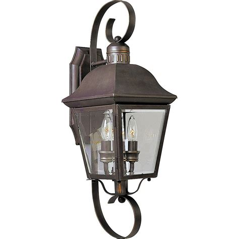progress lighting andover collection 2 light outdoor