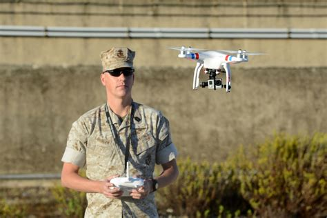 marine corps latest weapon   quadcopter drone   squad