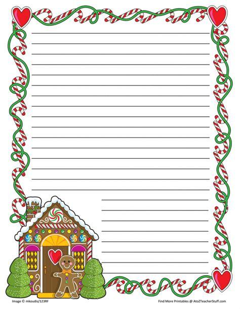 Christmas Border Writing Paper Napoleon Animal Farm Essay Christmas