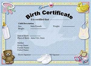 birth certificate template graphics and templates With hospital birth certificate template