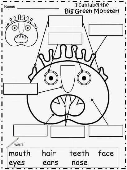 Monster Activities Preschool Away Monsters Teach Kindergarten