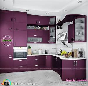 modular kitchen kerala home design and floor plans idolza With best brand of paint for kitchen cabinets with stickers with my logo
