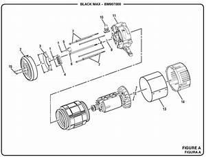 Blackmax Bm907000a 7000 Watt Generator Parts And