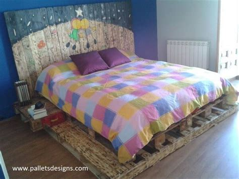 wonderful pallet king size beds frame ideas pallets designs