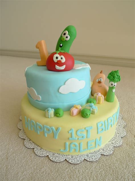 veggie tales cakes decoration ideas  birthday cakes