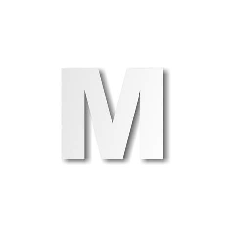 Lettre M Majuscule  Décoration Buffet