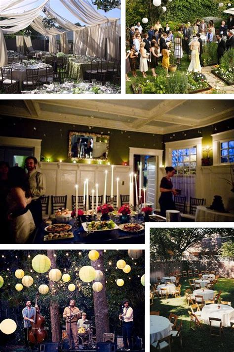 get married at home wedding party wedding reception at