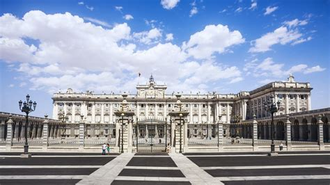 Royal Palace Of Madrid, One Of The Largest And Most