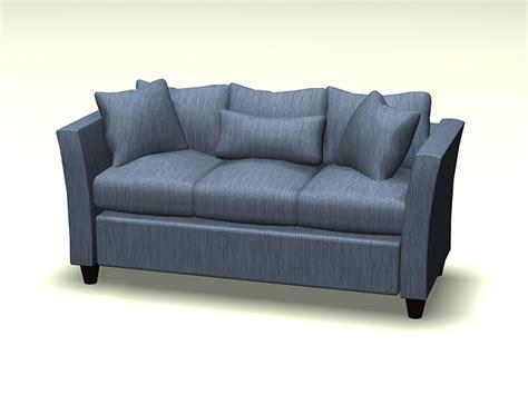 fabric cushion sofa  model ds maxautocad files