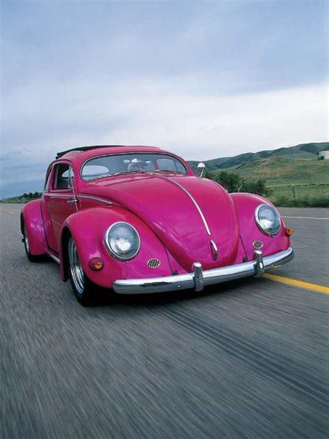 Hot Pink Volkswagen Beetle For Sale